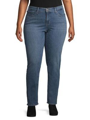 5d618ebeb01ca Levi's   Women - Women's Clothing - Plus Size - Pants & Leggings ...