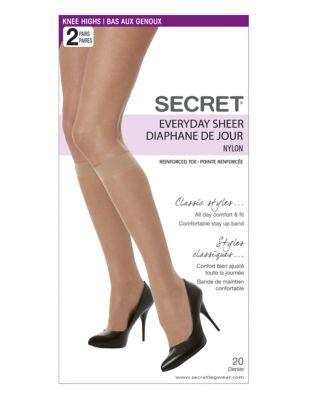 ba0a97c79dcca QUICK VIEW. Secret Hosiery. Secret Everyday Sheer