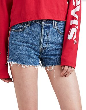 ab86badead1 Levi's - 501 Spectator High-Rise Cotton Shorts - thebay.com