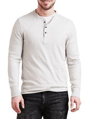 8f2fdb6c477 Levi's - Bryant Long-Sleeve Cotton Henley - thebay.com