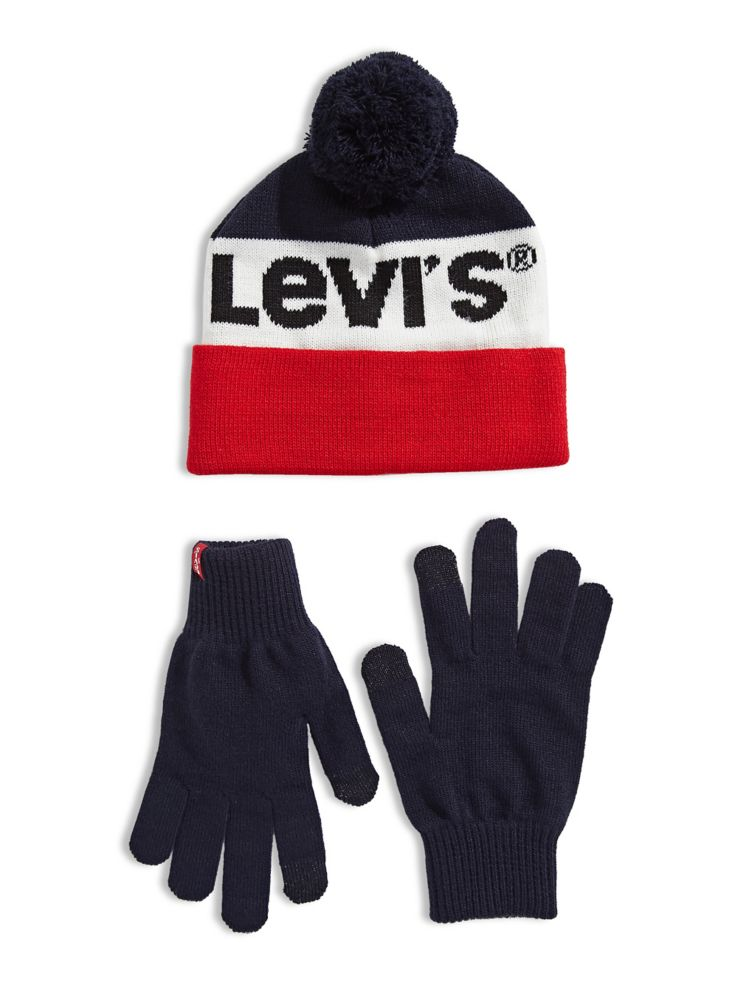 8576860c9f563 Levi s - Sportswear Logo Hat and Gloves Two-Piece Gift Set - thebay.com