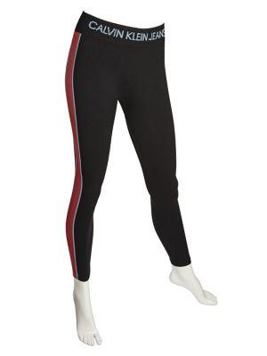 QUICK VIEW. Calvin Klein. Logo Fleece Tights 1c3a3edd374a2