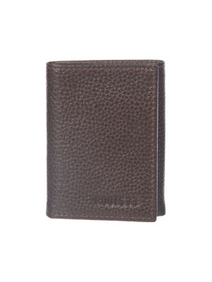 UPC 600091000462 product image for Minimalist Trifold Leather Wallet | upcitemdb.com