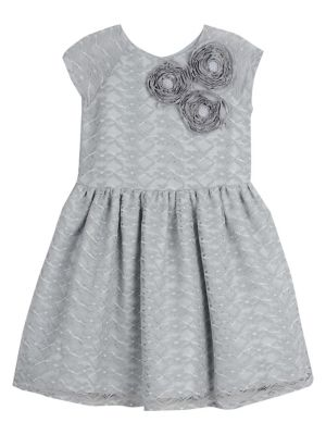 ac33a523b00a2 Product image. QUICK VIEW. Pastourelle. Little Girl's Soutache Lace Dress