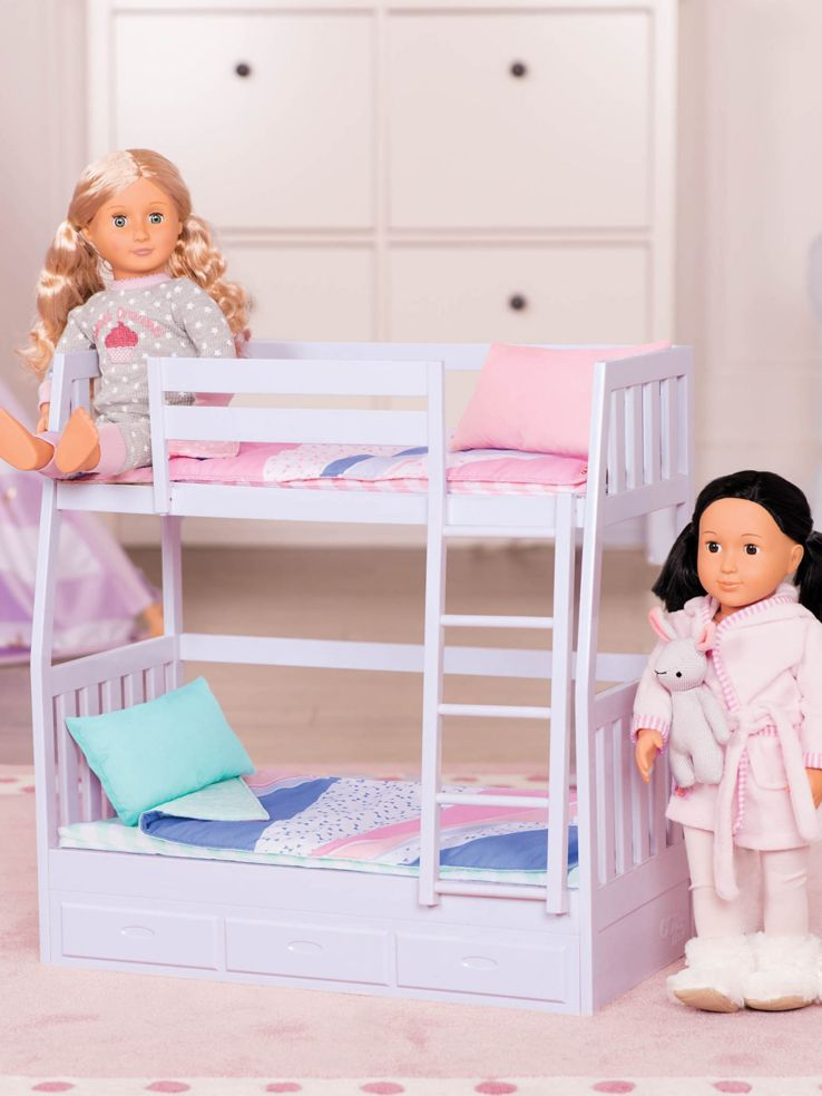 Our Generation Doll Bunk Bed Thebay Com