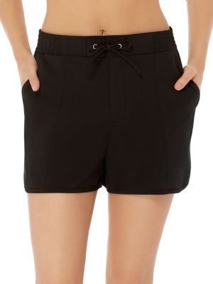 a2281cd932 QUICK VIEW. Christina. Solid Stretch Swim Shorts