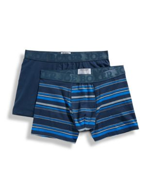 Joe Boxer Mens Revive 2 Pack Fitted Boxer