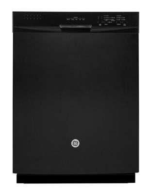 GBF630SGLBB - Built-In Dishwasher with Stainless Steel Tall Tub - Black photo