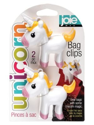 UPC 600090774869 product image for Unicorn 2-Piece Bag Clip Set | upcitemdb.com