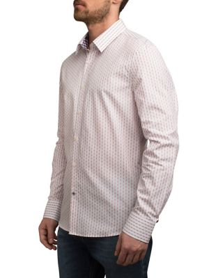 05f7f461ae QUICK VIEW. English Laundry. Retro Dotted Cotton Sport Shirt