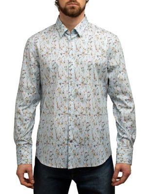 4afc8c926d QUICK VIEW. English Laundry. Floral Garden-Print Regular-Fit Button-Down  Shirt