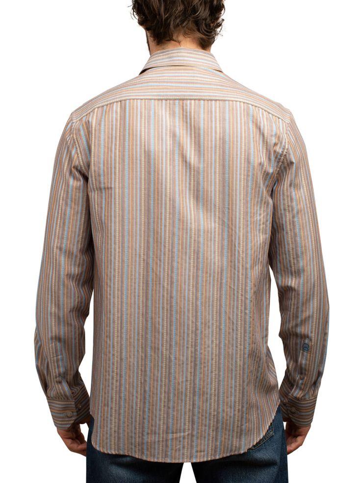 59b48e52dd English Laundry - Vintage Dobby Striped Button-Down Shirt - thebay.com
