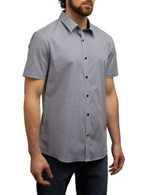 fc7af08409 QUICK VIEW. English Laundry. Regular-Fit Mini Floral-Print Button-Down Shirt