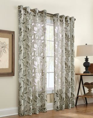 UPC 600088121781 product image for Amelia Burnout Curtain Panel | upcitemdb.com