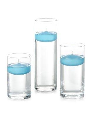 18 Piece Floating Candle Set And Holder by Yummi