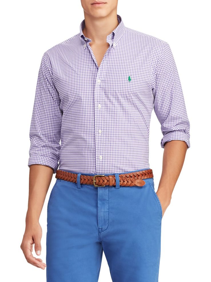 05a552f7ab4b Polo Ralph Lauren - Classic Fit Gingham Shirt - thebay.com