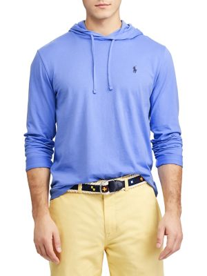 9006a6320 Product image. QUICK VIEW. Polo Ralph Lauren. Cotton Jersey Hooded Tee