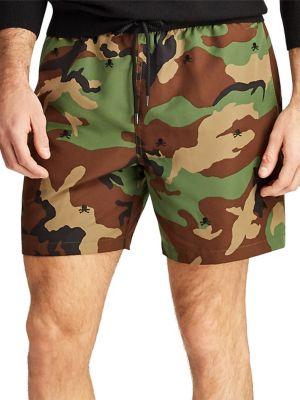 d0ece094a4 Product image. QUICK VIEW. Polo Ralph Lauren. Camouflage Traveller Swim  Trunks