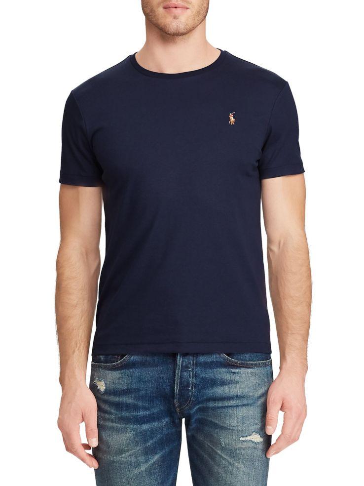 078c281cc Polo Ralph Lauren - Classic Fit Soft-Touch T-Shirt - thebay.com