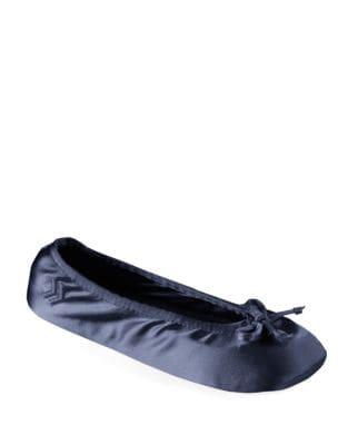 ISOTONER Satin Ballerina Slippers