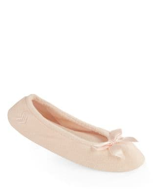QUICK VIEW. ISOTONER. Stretch Terry Ballerina Slippers
