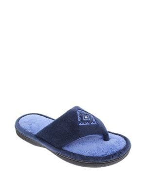 ba80f204e4a Product image. QUICK VIEW. ISOTONER. Isotoner Embroidered Thong Slippers