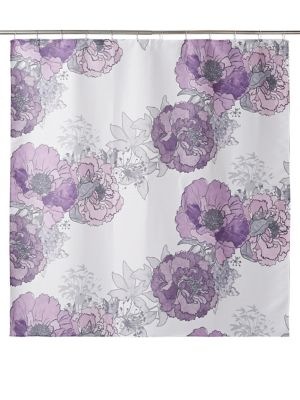 QUICK VIEW Distinctly Home Angeline Floral Shower Curtain