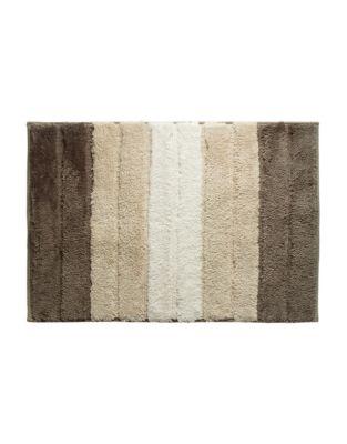 3dc658cbf3ec QUICK VIEW. Famous Home Fashions. Lino Striped Bath Mat