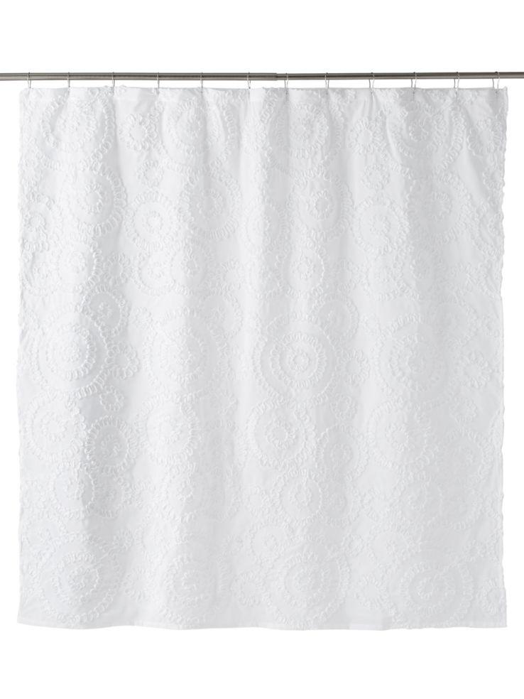Belle Circular Shower Curtain