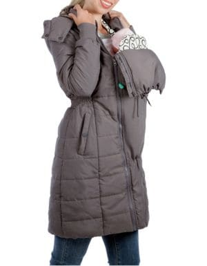 e82c80fb7abb3 Modern Eternity - Maternity Madison 3-in-1 Faux Fur-Accented Quilted Puffer  Coat - thebay.com