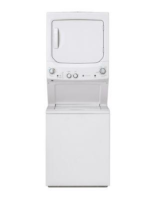 GUD27GSSMWW Spacemaker Washer and Gas Dryer -White photo