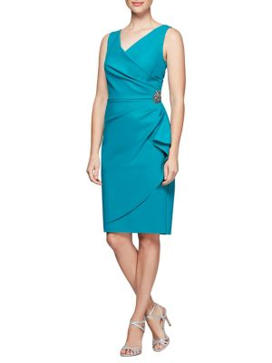 9edac3f22bba QUICK VIEW. Alex Evenings. Ruched Sleeveless Dress