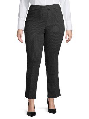 14e8af73086e5 Plus Classic Printed Pants BLACK. QUICK VIEW. Product image. QUICK VIEW.  Rafaella