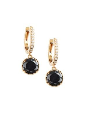 5e0c5f034 QUICK VIEW. Kate Spade New York. That Sparkle Goldtone & Crystal Drop  Earrings
