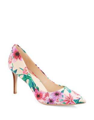 0b0fcf98478 Royale Point Toe Floral Pumps BLACK. QUICK VIEW. Product image