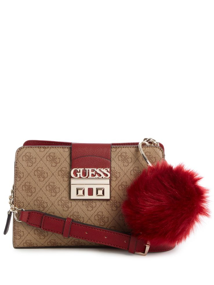 GUESS - Logo Luxe Girlfriend Crossbody Bag - thebay.com f1a0582838