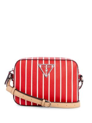 QUICK VIEW. GUESS. Kamryn Striped Crossbody Bag 6f28224f8afa1