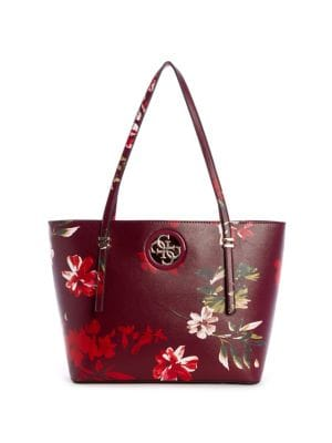 f3ea1e0ca2e9 QUICK VIEW. GUESS. Open Road Floral Tote