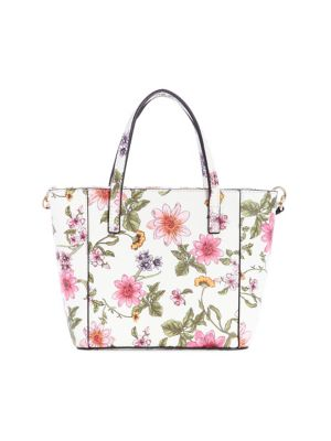 3c95c7ee6daa QUICK VIEW. GUESS. Open Road Floral Mini Tote