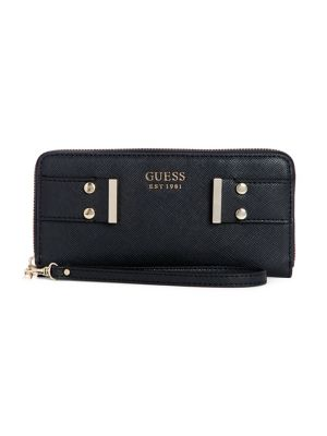 57e9af0f9566 QUICK VIEW. GUESS. Stephanie Zip Around Wallet