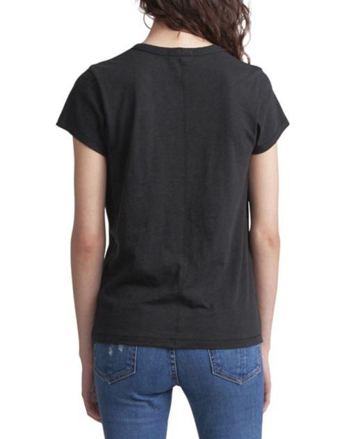 broderie en JEAN Hello Ragamp; T shirt coton à Bone O0XPZN8nwk
