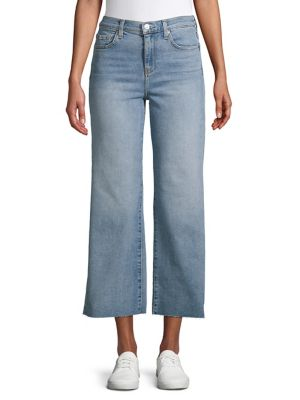 7c31c94ee1 Product image. QUICK VIEW. 7 For All Mankind. Logo Cropped Jeans