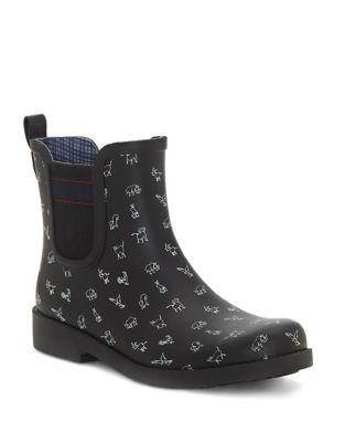 a807b87c570f Wallita Rubber Rain Boots BLACK. QUICK VIEW. Product image