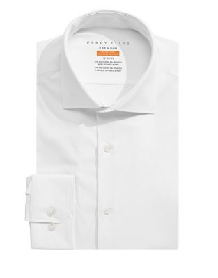 f89db5843a8 Classic Dress Shirt WHITE SOLID. QUICK VIEW. Product image
