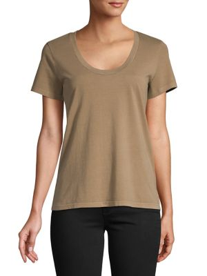 af69ccb8f25 QUICK VIEW. Theory. Scoopneck Cotton Tee