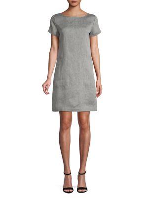ec5dc42912d Theory - Structured Linen-Blend Tee Dress - thebay.com