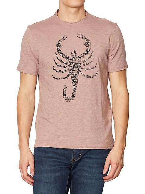 John Varvatos Mens Scorpions T-Shirt