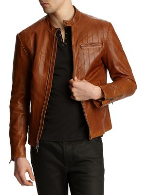 d4f16d87fd Men - Men's Clothing - Coats & Jackets - Leather & Suede Jackets ...