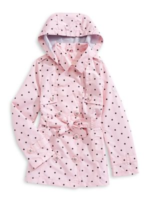 Clever Wonder Kids Puffer Vest Sz 5t Zip Front Polka Dot Pink White Clothing, Shoes & Accessories Girls' Clothing (newborn-5t)