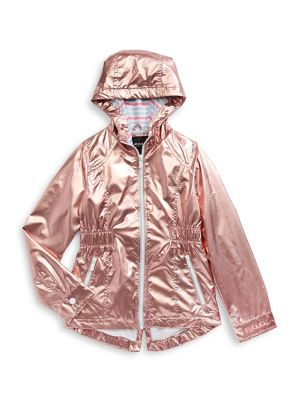 dec30e9a5 QUICK VIEW. F.O.G. by London Fog. Little Girl's Metallic Anorak